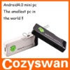 China facturary android MK802 mini PC with USB port HDMI and external wifi