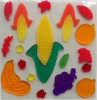 Decorative Corn Jelly Gel Sticker for kids' room decoration(G-0403)