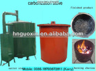 No pollution wood charcoal carbonization stove in big capacity