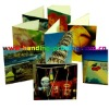 supply printed colorful paper greeting cards