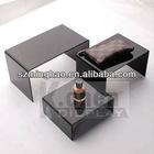 black acrylic riser set