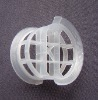 Plastic conjugate ring/plastic tower packing