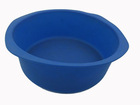 big round basin, silicone cake pan, pizza pan, food basket