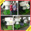 Flat-die biomass pellet machine wood