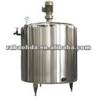 Stainless steel cooling and heating tank