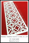 Different carving patterns of PVC Rigid Foam Sheet