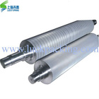 Tungsten carbide corrugated paper rolls