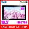 18.5'' HD WIDESCREEN DISPLAY ADVERTISING MACHINE SLIM LED DIGITAL PHOTO FRAME