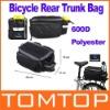 Black Multi-functional Bicycle Rear Seat Bag Shoulder Handbag Bag Pannier