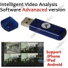 Intelligent Video Analysis Software Advanaced Version Support 25ch IP Camera Live View