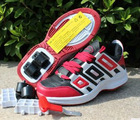 2 wheels roller shoes,roller skate, Push Button Roller Shoes, Heelys Shoes, Roller Skate, Wheel Shoes, flying shoes,