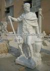 stone man statue