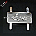 Metal logo casting for garments ,shoes ,bags&cases