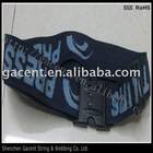 fabric luggage belt and woven luggage belt