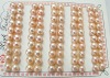 wwholesale 6.5mm pink freshwater pearl earring beads