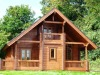 Villa wooden house for holiday village