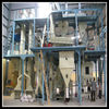 complete automatic animal feed mill machine