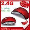 Wireless 2.4Ghz USB Folding Wireless Mouse