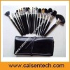 natural hair professional makeup brush set bs-136