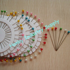 55m Large Ball Head Hat Pin in Pearl Colors
