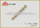 gold palted stainless steel jewelry chain