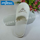 white embroidery open-toe durable promotion eva slipper