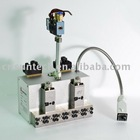 Fibre spray gun,hot melt adhesive applicator