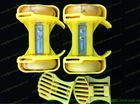 adjustable wheel Strap-On heel skates