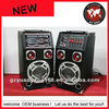 "Popular item!! 12"" active stage speaker with EQ, echo control"