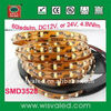 Indoor non waterproof decorative SMD3528 led flexible strip christmas light ( 60leds/m)