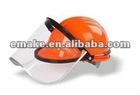 Visor bracket Fire safety mask head protection