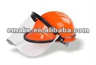 Visor bracket Fire safety mask head protection