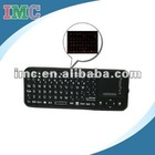 Mini Ultra-thin Wireless Bluetooth Qwerty Keyboard with Touchpad (IMC-PJJP-0666)