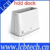 New white fashionable and popular design 3.0 USB HDD Docking U3