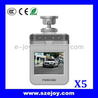 Unbelievable! Hot 720P Dual Camera Car DVR with LCD Screen X5