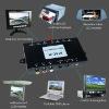 3 ways video out international satellite tv receiver
