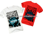 OEM Men's Casing neck t shirt with top fashion printing