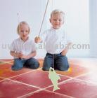 600*600mm Anti-slip Liquid Children Room Flooring
