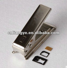 Micro SIM & Full SIM to Nano SIM Card Cutter + 3 Adapters for iphone 5