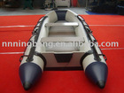nice 360cm inflatable grey speed boat