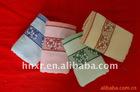 100%cotton velour jacqurd promotional face towel