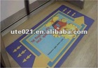 floor advertising film, floor graphic sticker