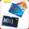 custom hard pvc card holder