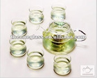 Glass Water Kettle & Pot Set with 5pcs cup in a gift box,your best choice for sending gifts