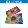 Playing paper card
