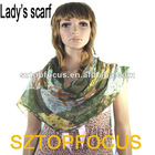 2012 new fashion lady pashmina scarf