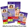 Roll Size High Glossy Inkjet Photo Paper(RC)