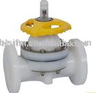 Plastic PVDF Flange Diaphragm valve