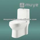 Flush valve wall toilet tank one auto toilet MY-2124