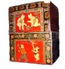 antique furniture painted box